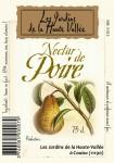 Le nectar de poire