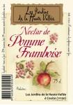 Le nectar pomme framboise