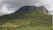Bugarach, le village et le pic